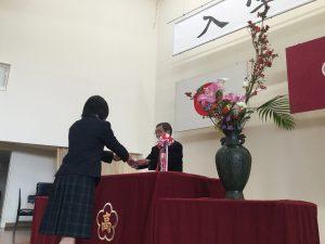 h31 入学式宣誓