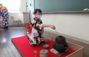 R3文化祭茶道